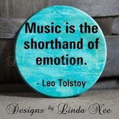 I love music.