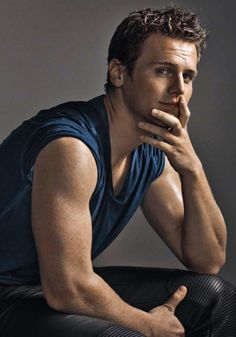 Jonathan Groff. I loved him as Jesse St. James on Glee and the only reason I kinda liked Frozen was because he voiced Kristoff. I want him to really and truly and a moment. He's so talented.