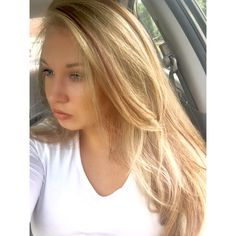 Blonde highlights with strawberry blonde and red brown lowlights