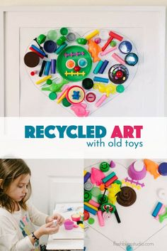 Wonderful recycled art project for kids