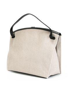Jil Sander Hill 라지 토트 백 Jil Sander, My Bags, Purses And Bags, Vegan Purses, Back Bag, Fabric Bags, Vintage Bags, Casual Bags, Beautiful Bags