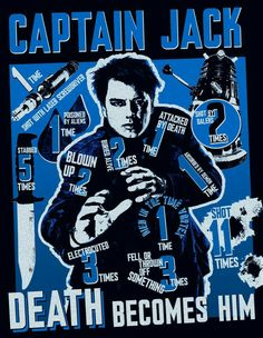 The 12 ways Captain Jack has snuffed it in Doctor Who It's time to pay tribute to Captain Jack Harkness - and the many different ways he's come to a sticky end Serie Doctor, Ninth Doctor, Doctor Who Comics, Doctor Who Art, Captain Jack Harkness, John Barrowman, Don't Blink, Torchwood, Dr Who