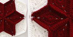 diamond crocheted granny square | the crochet space