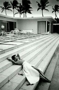 Palm Springs, California by Jeanloup Sieff, 1960s.