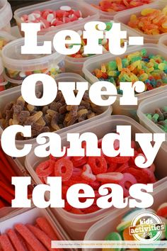 Genius Left-Over Candy Ideas to Try With Their Easter Candy! Candy Recipes, Fall Recipes, Chocolate Lasagna, Chocolate Peanut Butter Cookies, Halloween Candy, Halloween Ideas, Happy Halloween, Best Candy, Easter Candy