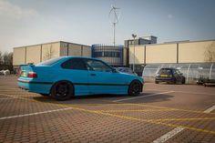 BMW e36 track car
