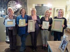Jayne, Jacky, Sarah, Samantha & Wendy. A lovely group of ladies and great results - 13th May 13