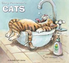 By Gary Patterson Cats | GARY-PATTERSONS-CATS-2014-WALL-CALENDAR-New-kitty-Boo-Cat-Calendar