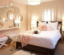 Inspiring picture beautiful, girl, bedroom, home, decoration, interior, light, pastel. Resolution: 500x382. Find the picture to your taste!