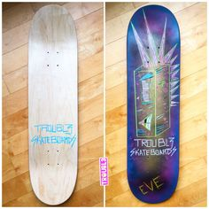 Punko Bots - TROUBL3 SKATEBOARDS Custom Decks | TROUBL3 Skateboards Custom Skateboards, Custom Decks, Everything Changes, Skateboarding, Skateboard, Skateboards, Surfboard