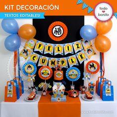 Dragon Ball: kit decoración - Todo Bonito