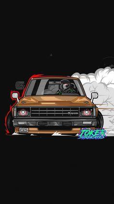 Jdm Wallpaper, Car Iphone Wallpaper, Car Wallpapers, Corsa Wind, Street Racing Cars, Car Vector, Truck Art, Car Illustration, Mini Trucks