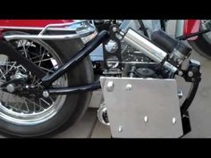 Wheelchair Sidecar on a Harley Motorcycle - YouTube