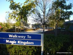 Walkway to the Magic Kingdom - wish I were there right now!