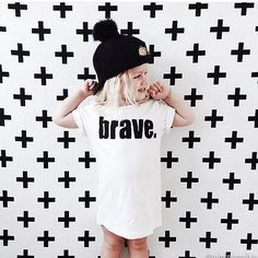 Popsicle and Co BRAVE kids fashion for a cause - tshirt