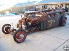 rat rod This Ride Has to be SCARY To DriVe