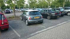 You drive a MINI! And you still can't park! You're a dick!