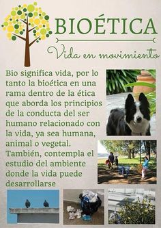 Aprendamos de la bioetica, aprendamos de ética de moral, de derechos, de normas y valores