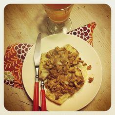 Cogumelos com creme, da @fezoca, um luxo! #Testado