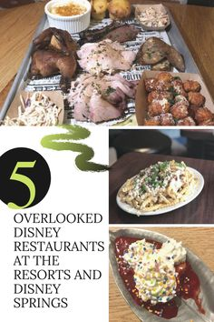 We LOVE Disney food, but there are some underrated and overlooked restaurants in the parks and at Disney Springs. Click to see my favorites and save this pin for your next Disney trip! #disney #disneyworld #disneydining #disneyfood #disneytravel #splitsville #trailsend #thewave #politepig #konacafe Disney World Restaurants, Walt Disney World, Disney Tips, Disney Food, Kona Cafe, Disney Dining, Disney Springs, Disney Cruise Line, Disneyland