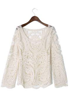 Delicay Crochet Top