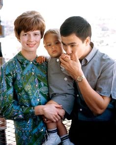 Bruce Lee the loving father