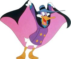 Darkwing Duck! Going to a superhero themed birthday party for a little girl! Super excited!