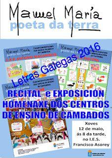 CORES DE CAMBADOS: EXPOSICIÓN E RECITAL HOMENXE DOS CENTROS ESCOLARES...