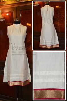 Certified #organic natural dyed long #kurta.  #BhuSattva - True Essence of Earth (www.store.bhusattva.com)