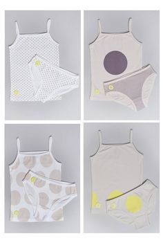 8-piece Girls Underwear Set, from Olive Juice.