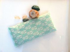 Organic cotton eye pillows organic flax and lavender by PureRest, $7.00