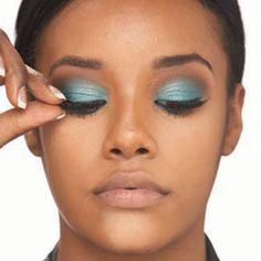 Everyday Natural Makeup For African American Women, African American Eye Makeup Tutorial
