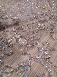 Wedding Lace, Lace Weddings, Beaded Lace Fabric, Chantilly Lace, Different Colors, Glitter, Beige, Embroidery, Pearls