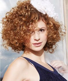 charming sexy curly hair