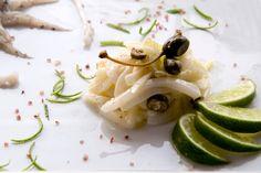 Insalata di seppie e finocchi con citronette di lime e acciuga | Ristorante La Lanterna