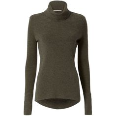 Veronica Beard Women's Ribbed Turtleneck ($450) ❤ liked on Polyvore featuring tops, sweaters, long sleeve turtleneck, ribbed turtleneck sweater, ribbed sweater, cashmere tops and turtleneck sweater