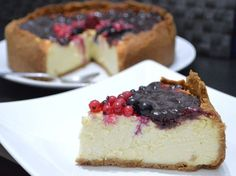 Cheesecake Americana, American Cheesecake, Easy Cheesecake Recipes, Sweets Recipes, Newyork Cheesecake, Cooking Cake, Italian Desserts, Ricotta, Cake Cookies