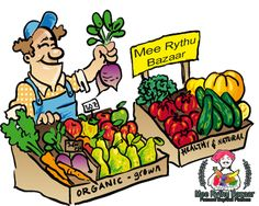 Mee Rythu Bazaar is farmers an e-trading platform that offers high quality, locally grown produce to merchants. It is comprised of vegetables, fruits, farms, crops, manures, cattle, farming equipment etc. For more details visit http://www.meerythubazaar.com/ or call 09666300003.
