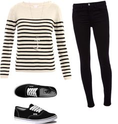 """school outfit"" by malauriejessica on Polyvore"