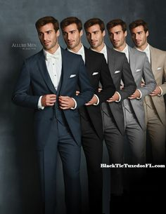 When only a Tux from Black Tie Tuxedo will do! Do it in an Allure!