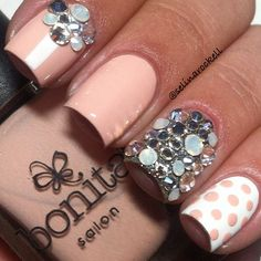 Ok so like the perfect nail design to wear to like a special occasions ;)