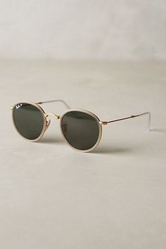 Ray-Ban Round Folding Classic Sunglasses #anthropologie