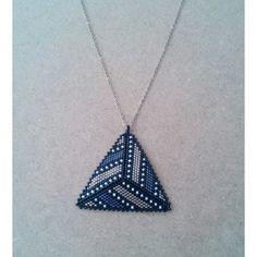 Miyuki Kolye Seed Bead Tutorials, Beading Tutorials, Peyote Beading Patterns, Loom Beading, Beaded Jewelry Designs, Bead Jewellery, Diy Schmuck, Bead Crochet, Seed Beads