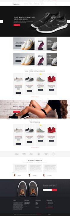 Footwear Store WooCommerce Theme