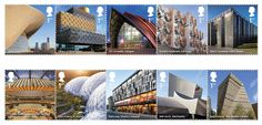 The UK's Best Contemporary Architecture Celebrated in New Stamp Series,Courtesy of Royal Mail