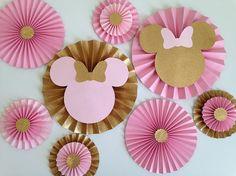 Minnie Mouse inspirado en telón de fondo Fans de Minnie