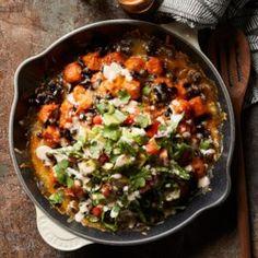 "Sweet Potato Tater Tot Nachos (""Totchos"") - EatingWell.com"