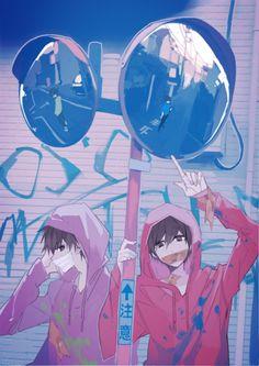 おそ松さん Osomatsu San Doujinshi, Ninja Turtles Art, Star Character, Anime Base, Another Anime, Ichimatsu, Manga Boy, Boy Art, Otaku Anime