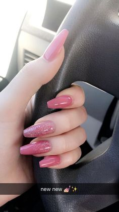 In seek out some nail designs and ideas for your nails? Listed here is our list of must-try coffin acrylic nails for stylish women. Purple Acrylic Nails, Summer Acrylic Nails, Best Acrylic Nails, Purple Nails, Acrylic Nail Designs, Pink Nail Designs, Matte Nails, Summer Nails, Hair And Nails