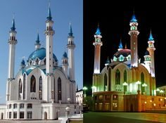 The Kul-Sharif mosque in Kazan, Russia